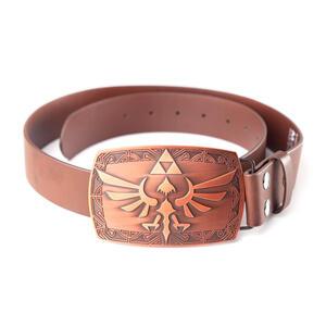 Cintura Nintendo. Zelda. Brown Belt Patina Buckle