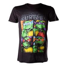 T-Shirt uomo Teenage Mutant Ninja Turtles Bright Graffiti