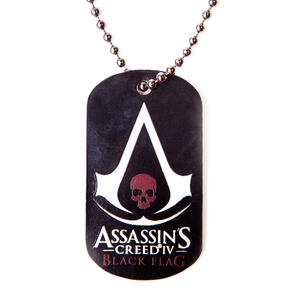 Assassin's Creed. Black Flag Logo Dogtag Ciondolo