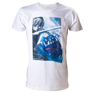 T-Shirt Nintendo. White. Zelda With Link T-shirt