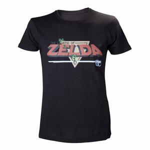 T-Shirt Nintendo. Black Zelda Shirt