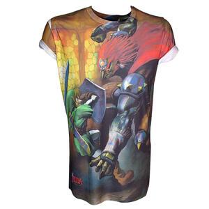 T-Shirt Nintendo. Zelda, Sublimation Printed T-shirt