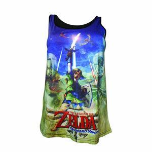 Canotta donna Nintendo. Zelda Sublimation