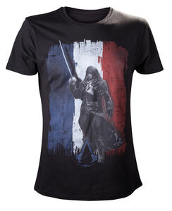 T-Shirt uomo Assassin's Creed. Unity Tricolore