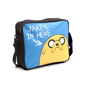 Borsa a Tracolla Adventure Time. Jake's in Here