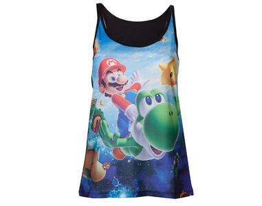 Canottiera donna Nintendo. Super Mario Galaxy 2