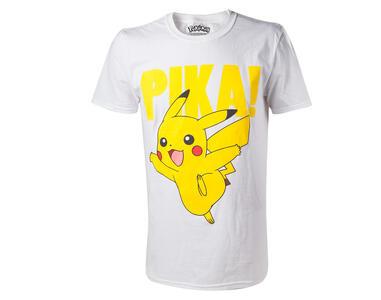 T-Shirt unisex Pokemon. Pikachu Printed Crewneck