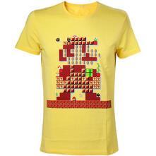 T-Shirt Nintendo. Yellow Mario Maker T-shirts