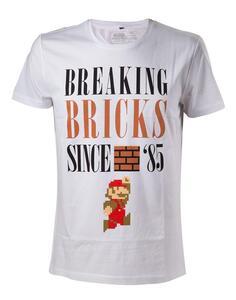 T-Shirt Nintendo. Breaking Bricks