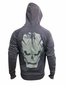 Felpa Call Of Duty Black Ops 3. Skull Zipper Hoodie