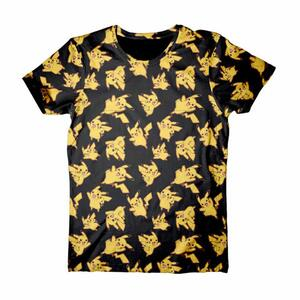 T-Shirt unisex Pokemon. Mens Allover Print T-shirt