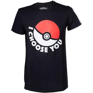 T-Shirt unisex Pokemon. I Choose You