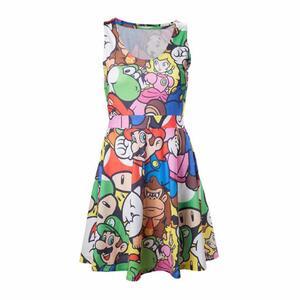 Vestito donna Nintendo. Mario