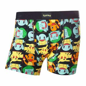 Boxer Pokemon. Boxershort with More Characters
