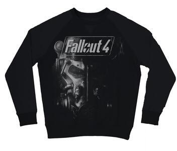 Felpa Unisex Fallout 4. Black
