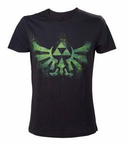 T-Shirt unisex Nintendo. Zelda Green Print