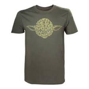 T-Shirt unisex Star Wars. Yoda Word Play