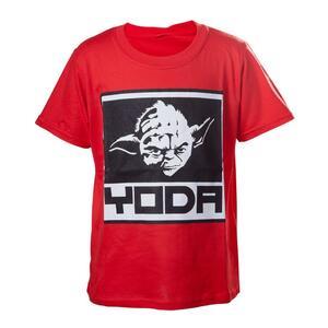 T-Shirt bambino Star Wars. Red Yoda