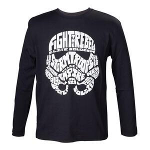 T-Shirt bambino Star Wars. Kids Black Storm Trooper