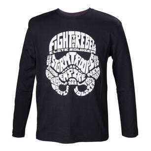 4c62be62b74b9 T-Shirt bambino Star Wars. Kids Black Storm Trooper - Bioworld ...