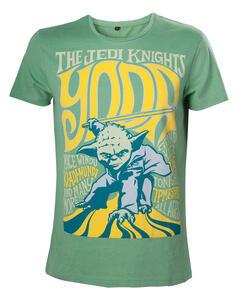 T-Shirt unisex Star Wars. Yoda Vintage Rock Poster