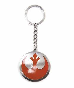 Portachiavi Star Wars. The Force Awakens. Metal Rebel Logo