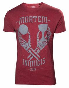 T-Shirt unisex Uncharted 4. Mortem Inimicis Suis