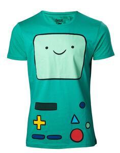 T-Shirt Unisex Adventure Time. Beemo Green
