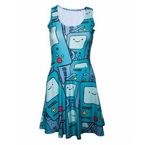 Leggings Adventure Time. Beemo All Over Printed Dress
