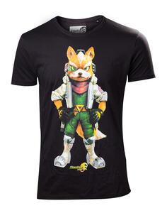 T-Shirt Unisex Nintendo. Starfox Black