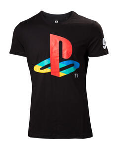 T-Shirt Unisex Tg. XS Playstation. Classic Logo And Colors