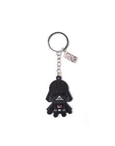 Portachiavi Star Wars. Darth Vader Rubber Black