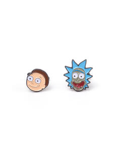 Gemelli Rick And Morty - Metal Multicolor