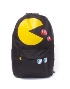 Zaino Pac-Man. Pac-Man & Blinky Placement Printed Backpack Black