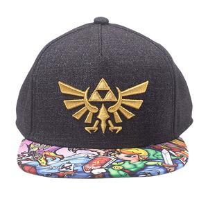 Cappellino Zelda. Black Woods Boys Snapback Black