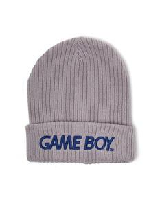 Berretto Gameboy. Logo Grey