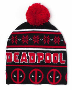 Berretto Deadpool. Christmas Red