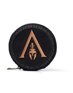 Assassin'S Creed Odyssey. Greek Helmet Logo Premium Coin Purse Coin Purse U Black