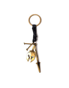 Assassin'S Creed Odyssey - Premium Keychain With Leather & Metal Charms Metal Keychains U Copper