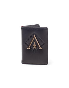 Assassin'S Creed Odyssey. Premium Metal Odyssey Badge Card Wallet Wallets Bifold M Black