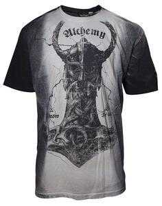 T-Shirt Unisex Alchemy. Thors Fury Grey