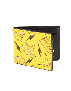 Portafoglio Pokemon. All Over Pikachu Bifold Wallet