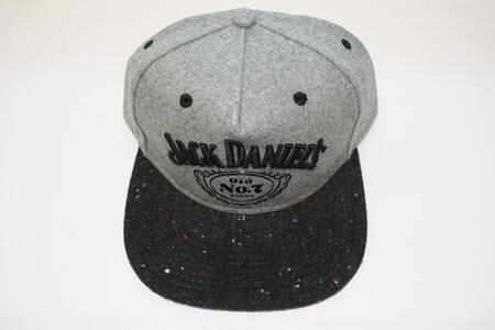 Cappellino Jack Daniel'S. Grey Logo Snapback