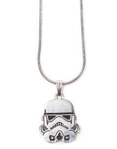 Star Wars. Stormtrooper Helm Silver Necklace Pendant Necklaces U Silver