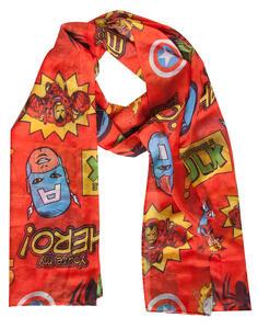 Sciarpa Marvel. Comics Woven Fashion With All Over Print Shawls Multicolor
