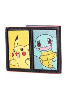 Portafogli Pokemon. Starting Characters Bifold Wallet