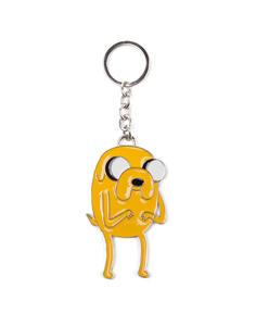 Portachiavi in metallo Adventure Time. Jake Yellow