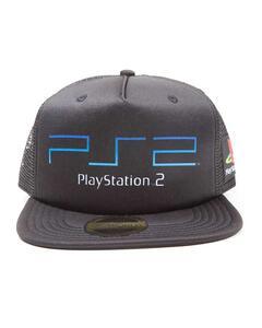 Cappello Playstation. Ps2 Trucker Black