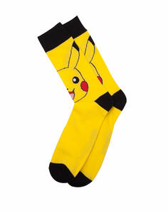 Calzini Tg. 35/38 Pokemon. Pikachu Yellow