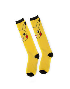 Calzini Pokémon. Pikachu Kneehigh Socks Knee